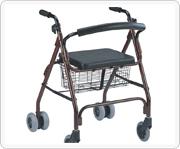 铁制或铝制老人购物车