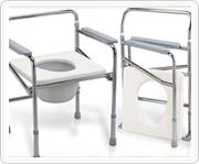 铁制或铝制马桶椅