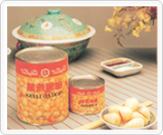 Canned Chinese bulbous onion